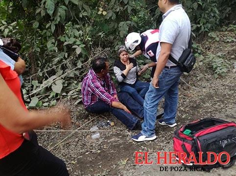Lesionados en choque en la Poza Rica-Cazones