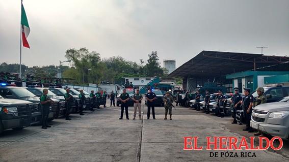 Permanecerán fuerzas de seguridad en la ciudad