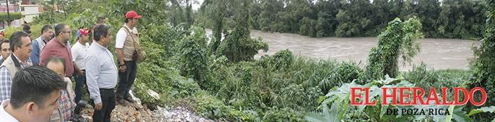 Monitorean Río Cazones