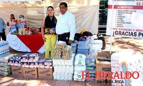 Invita Alcalde a apoyar a Oaxaca y Chiapas