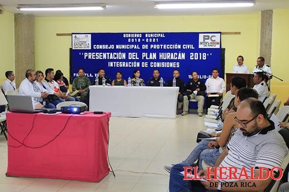 """Presentan """"Plan Huracán 2018"""""""
