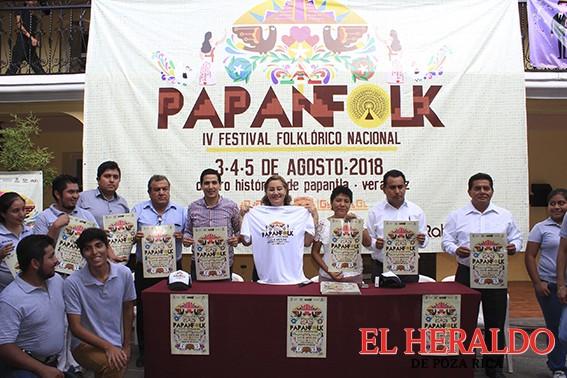 """Presentan festival """"Papanfolk"""""""
