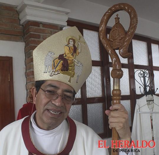 Visitará Obispo a la Diócesis de Papantla