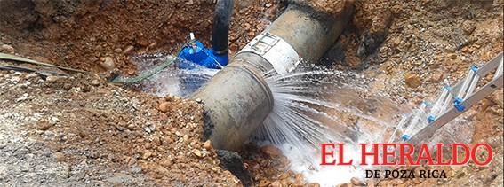 Aplicarán tecnología ante fugas de agua