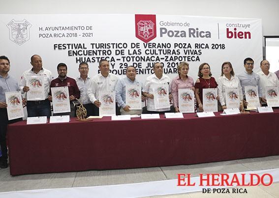 Poza Rica sede de las culturas vivas del Estado