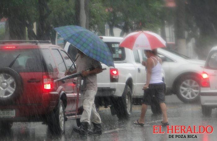 Alertan por lluvias en la zona norte