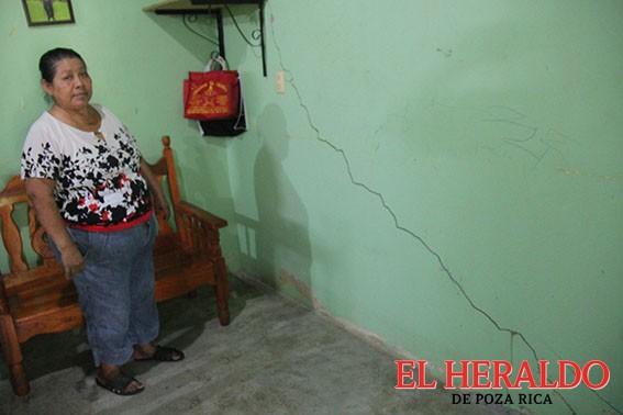 Riesgo de deslaves en la Vicente Herrera