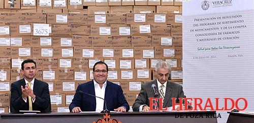Compra histórica de medicamentos para Veracruz: Javier Duarte