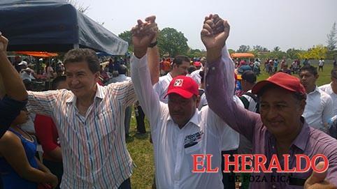 Da Yunes Landa respaldo al candidato del PRI en Cazones