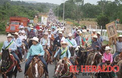 Cabalgan en honor a San Judas Tadeo