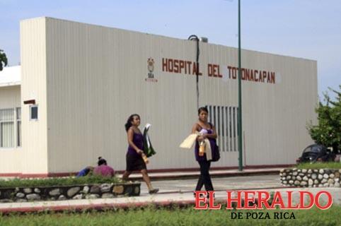 Denuncian negligencia en Hospital del Totonacapan