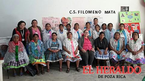 Parteras indígenas reciben capacitación