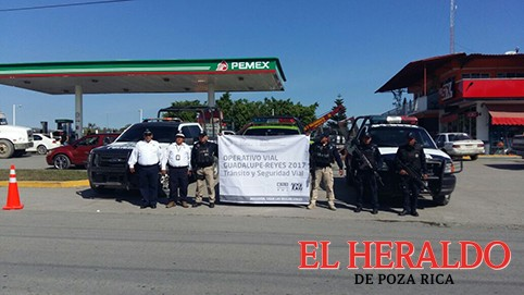Activan operativo en la Sierra Totonaca