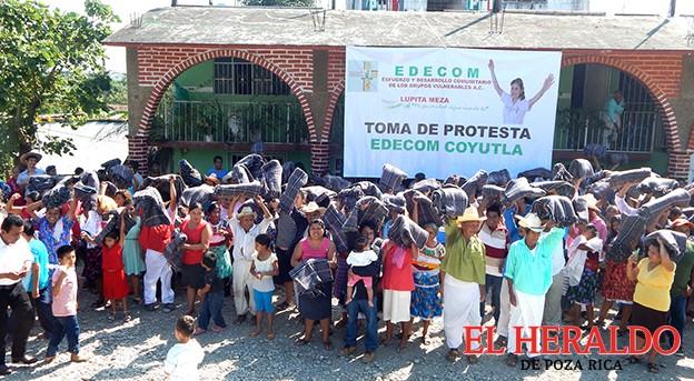 EDECOM Coyutla apoya a Lupita Meza