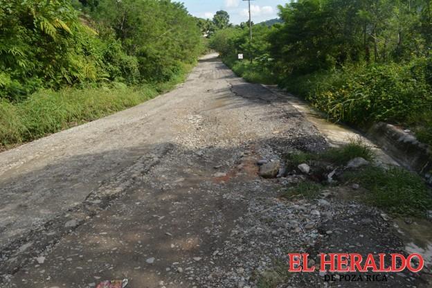Caminos deplorables en la sierra del Totonacapan