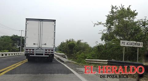 Carreteras sin protección
