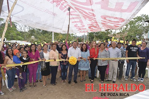 Inauguran obra de drenaje en Nuevo Progreso