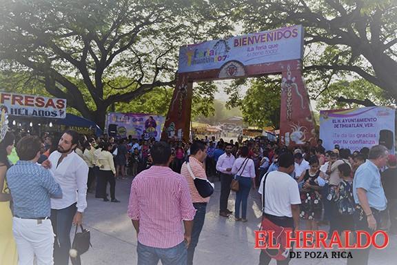 Alistan 'Expo Feria Tihuatlán 2018'