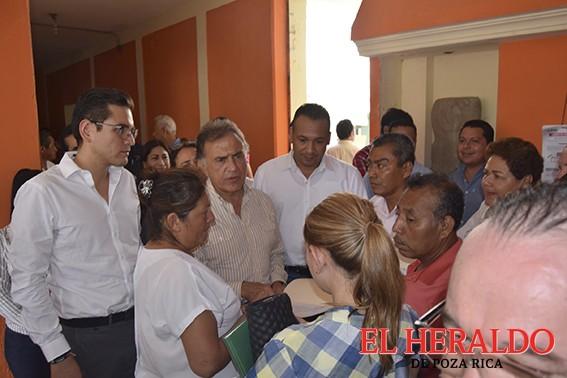 Gobernador recorre municipios de la zona