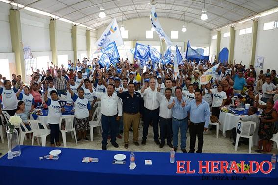 Ricardo Serna Barajas refrendan compromiso