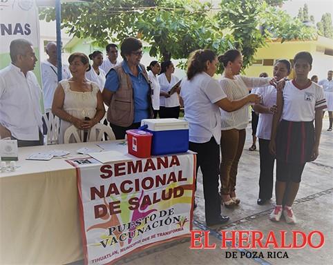 Alistan 2da Semana Nacional de Salud