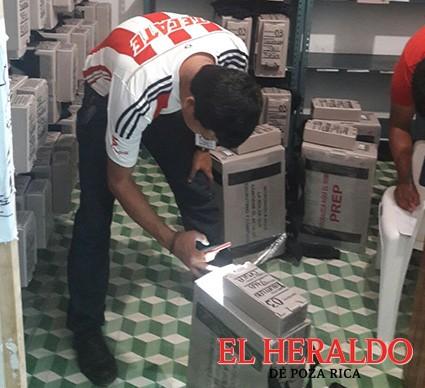 Funcionarios de casillas recibirán material electoral
