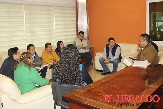 Reasignan comisiones en Tihuatlán