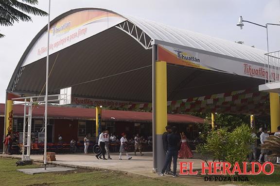 Concluidas 217 obras en Tihuatlán