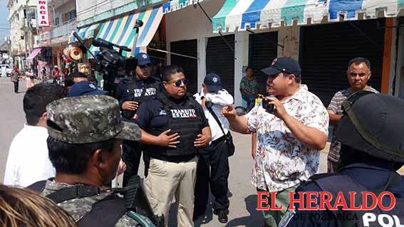 Refuerzan seguridad en zona turística de Tecolutla