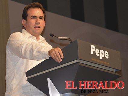 Pepe Yunes precandidato de unidad del PRI