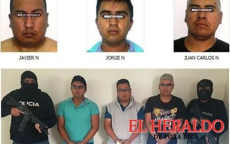 Expolicías de la SSP involucrados en secuestro
