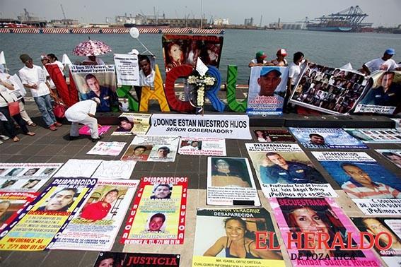 No hay cifras de desaparecidos en Veracruz