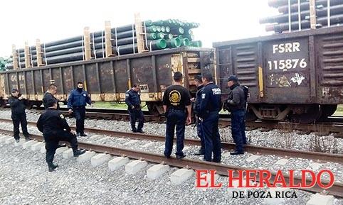Delincuencia se apodera de las vías férreas