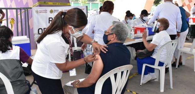 Concluye con éxitoaplicación de vacunas