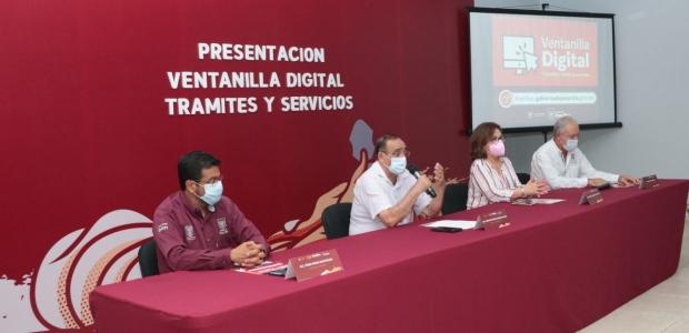 Presenta Javier Velázquez, Ventanilla Digital de Trámites