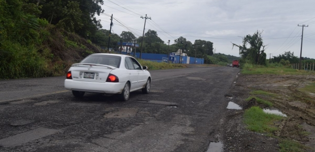 Intransitable carretera federal