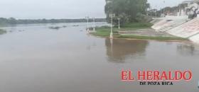 Se desborda el río Tecolutla