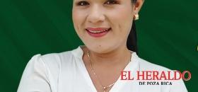 Gabriela Valdez, laganadora en Tecolutla