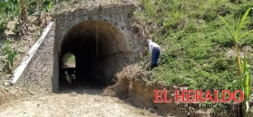 Temen colapso de túnel